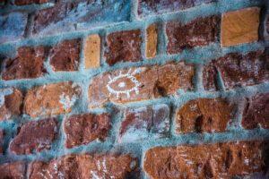 Chalk Brick Wall